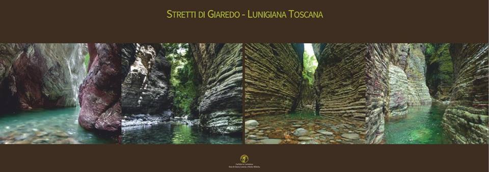 Il poster degli Stretti di Giaredo realizzato dalle guide di Sigeric