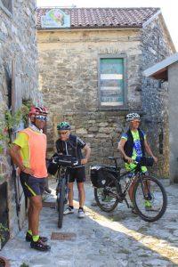 in Bicicletta al B&B Eremo Gioioso