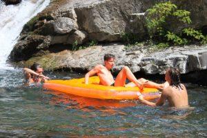Il lago Palino: una superba piscina a Pontremoli
