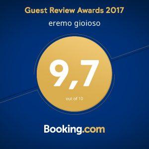B&B Eremo Gioioso: la valutazione degli ospiti che hanno utilizzato Booking